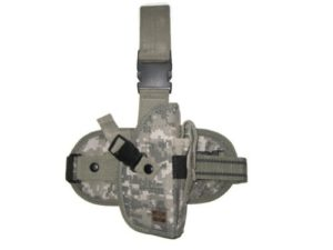 Tactical Drop Leg Pistol Holster ACU Digital Camouflage Right Handed