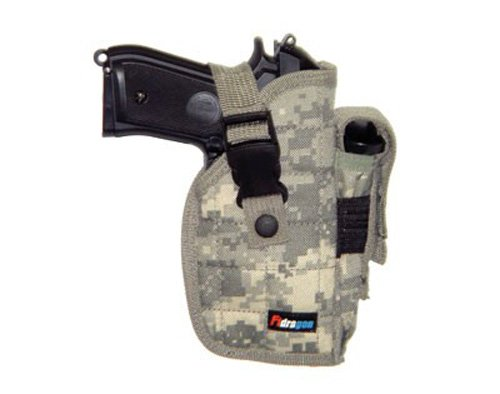 FiDragon Big Pistol Belt Holster Digital Camo Right Handed ST22ACU