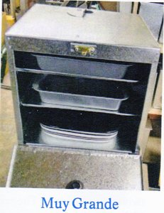 Riley Stove Muy Grande Warming Oven or Side Oven