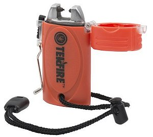 Ultimate Survival TekFire Fuel-Free Lighter or Fire Starter