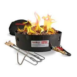 Camp Chef 15″ Compact Propane Gas Fire Ring