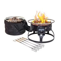 Camp Chef 19″ Redwood Propane Gas Fire Pit
