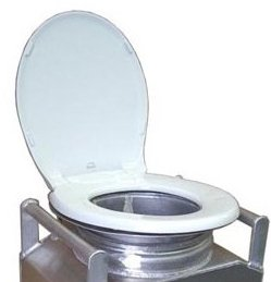 Partner Steel Jon-ny Partner Toilet Seat Unit Only
