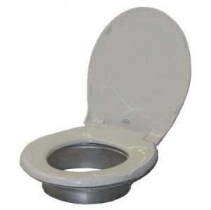 Partner Steel Jonny Partner Toilet Seat and Ring