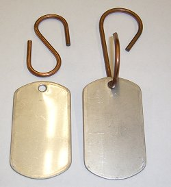 Dutch Oven Name Tags Stainless Steel 2″