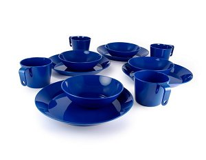 GSI Cascadian 4 Person Table Set Blue