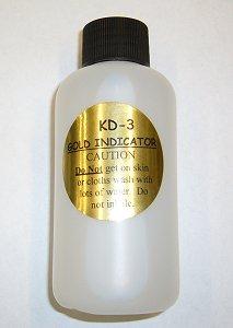 Gold Hunter KD-3 Indicator Solution 4 oz.