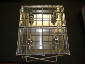 Partner Steel Cook Partner 4 Burner 22″ Break A Way Hinge Propane Stove