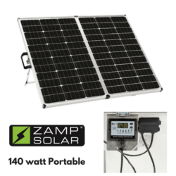 Zamp 140 Watt Portable Solar Charging System