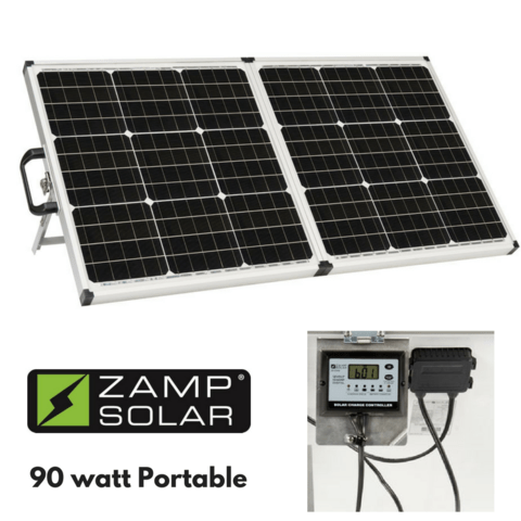 Zamp 90 Watt Portable Solar Charging System