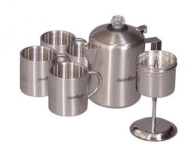 Camp Chef Java 5 Coffee Pot Set