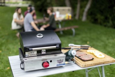 Camp Chef VersaTop Grill with BBQ