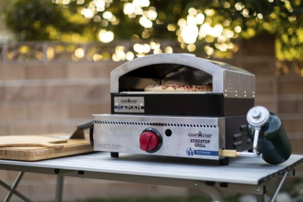 Camp Chef VersaTop Grill With Pizza Cooker