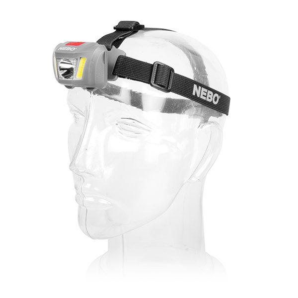 Nebo DUO Headlamp on Head