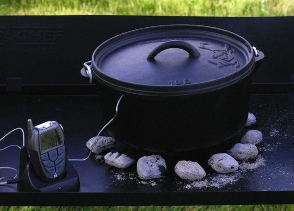 Camp Chef Wireless Thermometer Dutch Oven