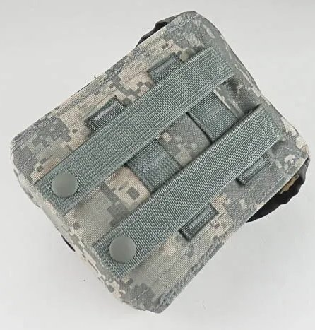 GI Issue First Aid Kit Back