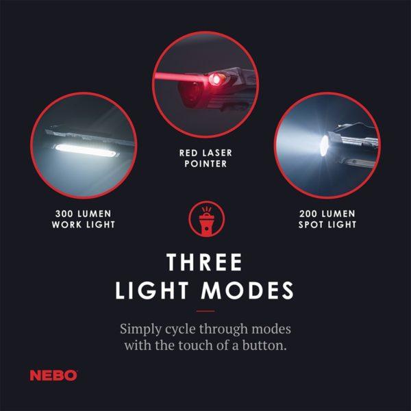 Nebo Tools Larry Trio