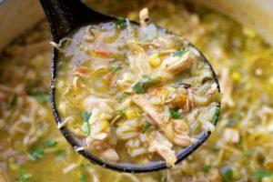 Rocky Mount Green Chile Chicken Stew