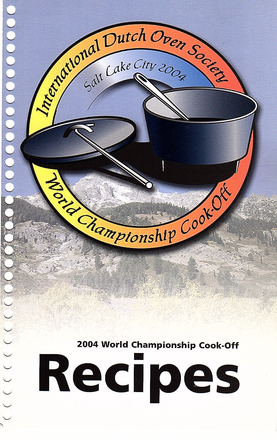 International Dutch Oven Society World Championship Cook-Off 2004 Recipes PDF