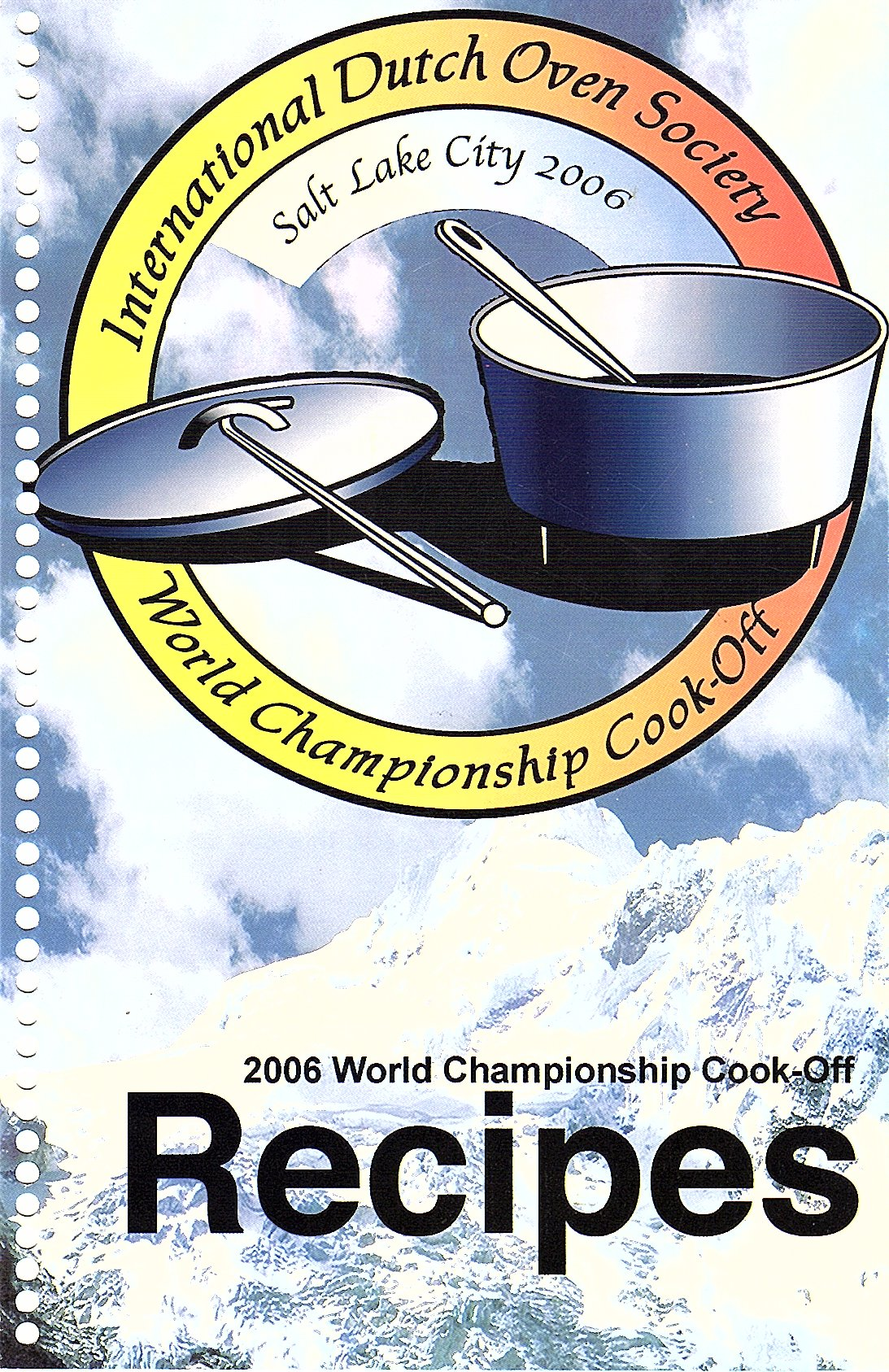 IDOS 2006 World Championship Cook Off PDF Recipes