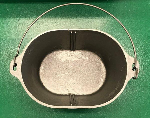 Maca Dutch Oven 10 x 14 x 8 inside