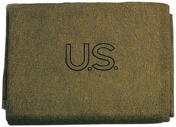 Rothco U.S.Wool Blanket Olive Drab