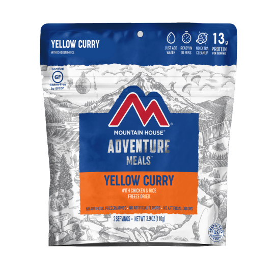 Mountain House Yellow Curry Chicken and Rice