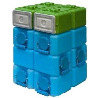 WaterBrick Food Brick Stack