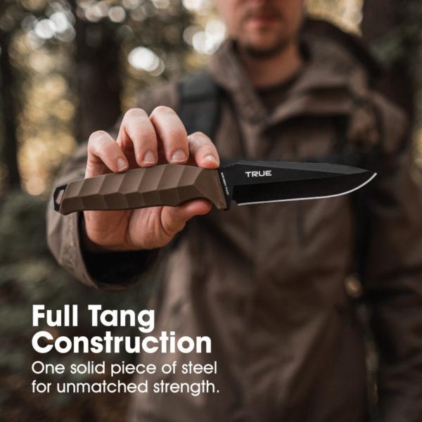 True Fixed Blade 4 Inch Full Tang